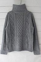 High Neck  Plain Sweaters