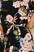 Crew Neck  Asymmetric Hem  Belt  Floral Printed  Petal Sleeve  Short Sleeve Casual Dresses