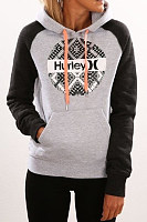 Hooded  Drawstring  Letters Hoodies