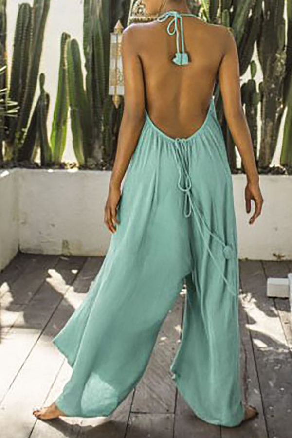 Sexy Summer Beach Jumpsuit