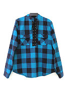 Department Of Leadership Plaid Casual Blouse
