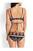Spaghetti Strap  Printed Bikini