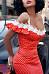 Spaghetti Strap  Dot  Extra Short Sleeve Bodycon Dresses
