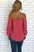 Spaghetti Strap  Bowknot  Plain  Lantern Sleeve Shirts & Blouses