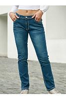 Long  Basic  Plain  Jeans