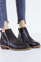 Women Square Heels Multicolor Boots