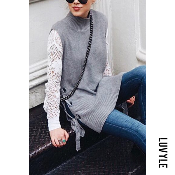 Round Neck Bow Knot Casual Sweater - from $28.00