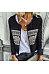 Band Collar  Printed Jackets