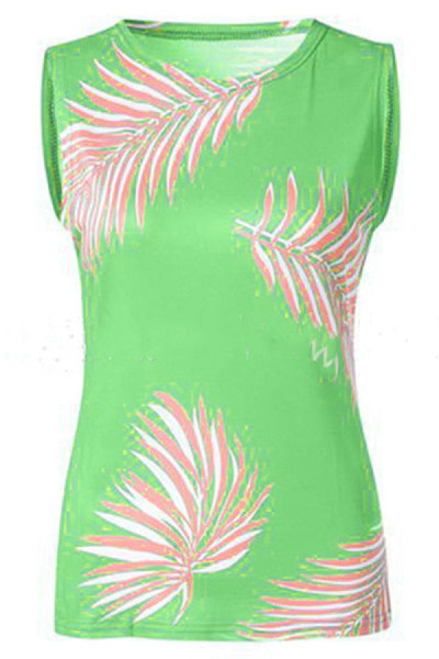Fashion Print Vest Top