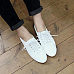 Round Toe Casual Leather Flats