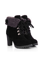 Criss Cross Patchwork Short Boots