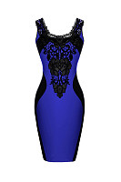 Backless  Color Block  Lace Bodycon Dresses