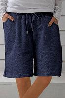 Elastic Waist Tie Casual Shorts