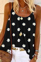 Daisy Printed Loose-Fitting Camisole