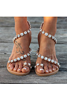 Bohemian  Flat  Peep Toe  Casual Date Bohemian Shoes