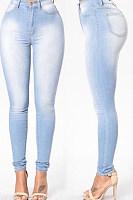 Summer Basic Plain Jeans