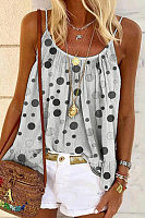 Polka Dot Casual Camisole