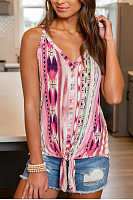 Sing Coloring Printed Camisole