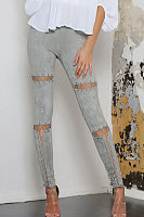 Cutout Drawstring Leggings