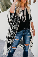 Snap Front  Printed Cover Ups