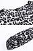 Round Neck  Asymmetric Hem  Leopard  Lantern Sleeve  Blouses