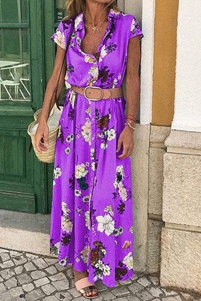 Boho vintage ethnic dress
