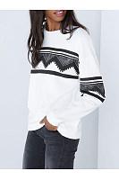 Round Neck  Ikat T-Shirt
