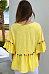 Round Neck  Fringe  Plain  Bell Sleeve T-Shirts