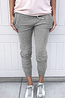 Long  Fitted Casual Pants
