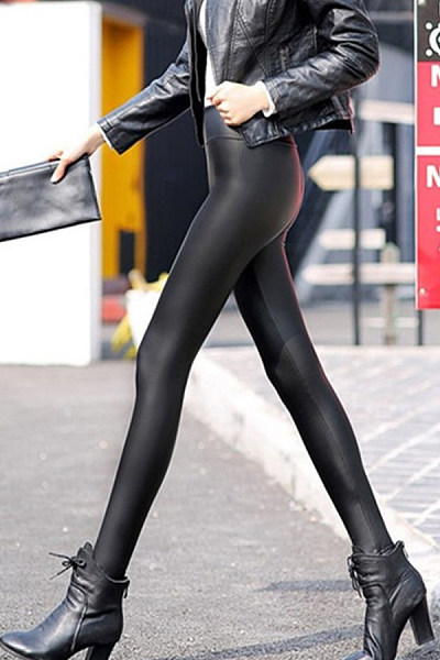 Long  Sheath  Plain Jeans