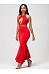 Halter Cutout Mermaid Maxi Dress