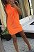 Round Neck  Fringe  Plain  Sleeveless Bodycon Dresses