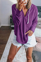 Explosive Loose Long-Sleeved Hooded