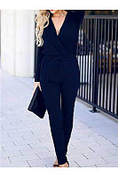 Women Casual Plain Jumpsuits