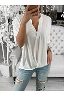 Casual V-Neck Short Sleeves T-Shirt