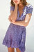 Deep V Neck  Asymmetric Hem  Belt  Short Sleeve Casual Dresses