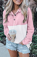 Colouring Long Sleeve Casual Sweatshirt