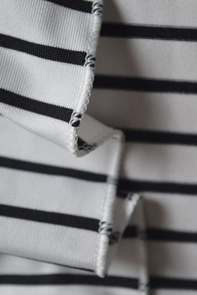 Spaghetti Strap  High Slit  Striped  Sleeveless Maxi Dresses