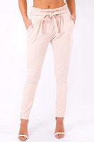 High Elastic Belt Waist Casual Pants