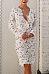 Deep V Neck  Hollow Out Lace Plain Bodycon Dresses