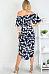 Off Shoulder  Asymmetric Hem  Printed Maxi Dresses