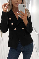Women Casual Plain Jacket