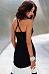 Backless  Color Block Wave Stripe  Sleeveless Maxi Dresses
