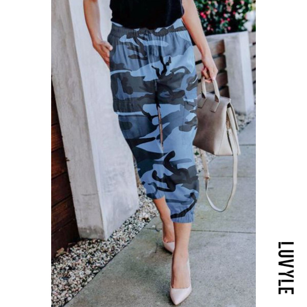 Camouflage | Casual | Women | Pant