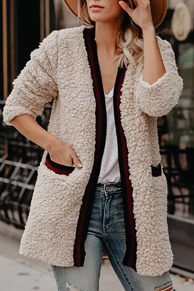 Casual Pure Color Women's  Cardigan