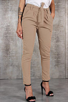 Long Plain  Casual Pants