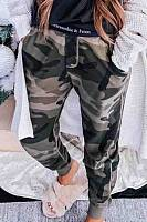 Long  Casual Camouflage Pants
