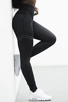 High-Waisted Striped Leggings For Women