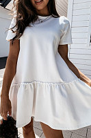 2020 Summer Casual Solid Color Dress