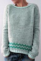 Fashion Classic Round Neck Colouring Sweater